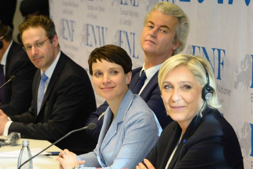Euroopa äärmusparempoolsete kongressil Koblenzis rippus ka Eesti lipp