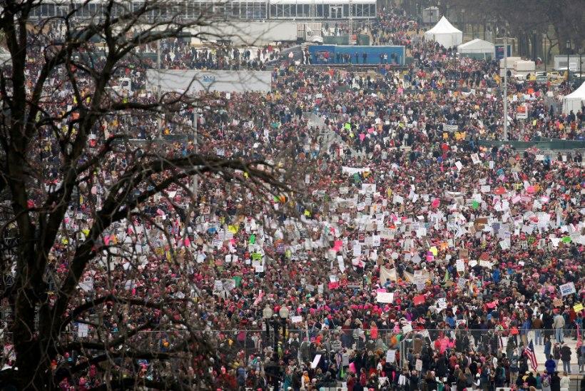 GALERII JA VIDEO | Washingtonis marssisid naised oma õiguste, tervise ja perekondade kaitseks