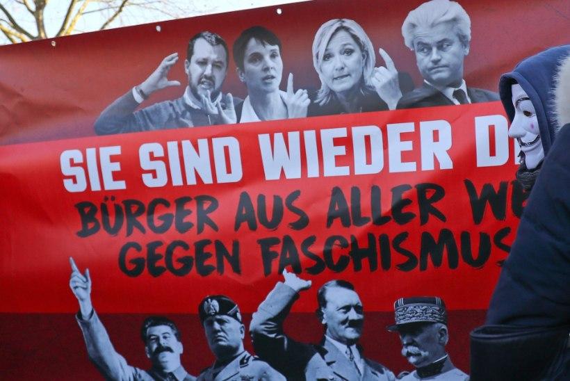 MEELEAVALDAJAD HOIATASID: fašism tõstab taas pead!