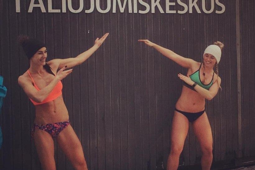 Vapper naine Polina Mattisen harrastab talisuplust