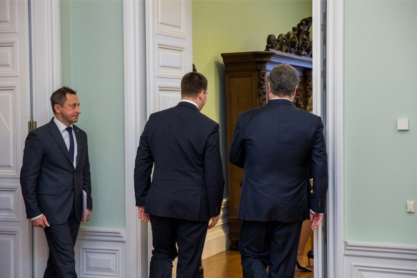 GALERII | Ukraina president kohtub Jüri Ratase ja Eiki Nestoriga