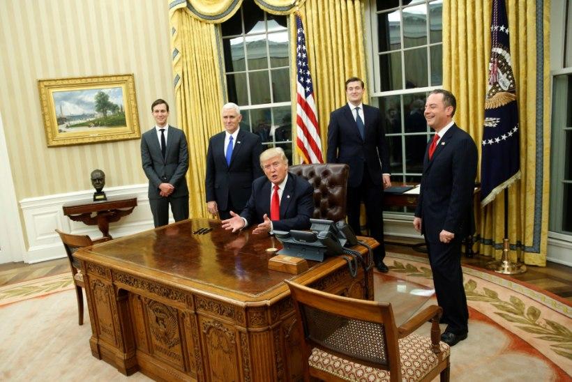 Trump tõi Churchilli ovaalkabinetti tagasi
