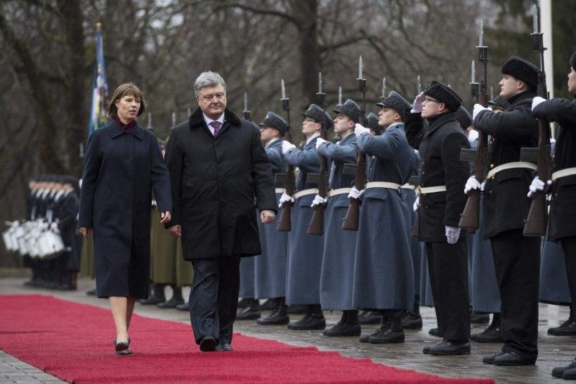 FOTOD JA VIDEO | President Kaljulaid: Ukraina vajab meie toetust