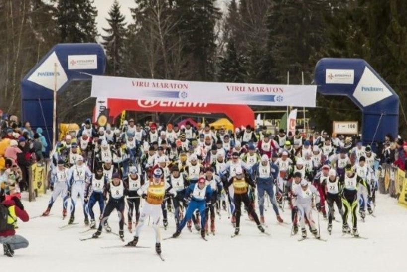 LUMI, KUHU SA JÄID? Viru maraton lükkub lumepuudusel edasi
