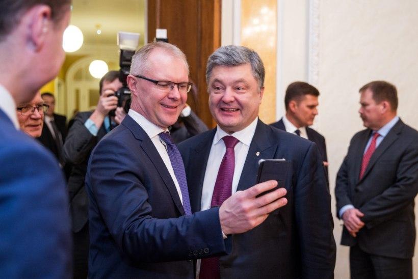 FOTOD JA VIDEO   President Kaljulaid: Ukraina vajab meie toetust