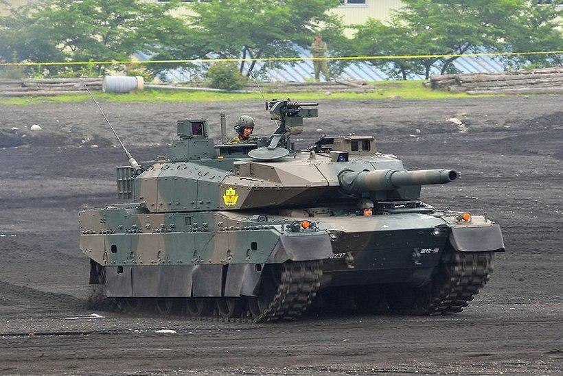 Vene meedia: Ukraina steppidesse on jõudnud Jaapani tankid
