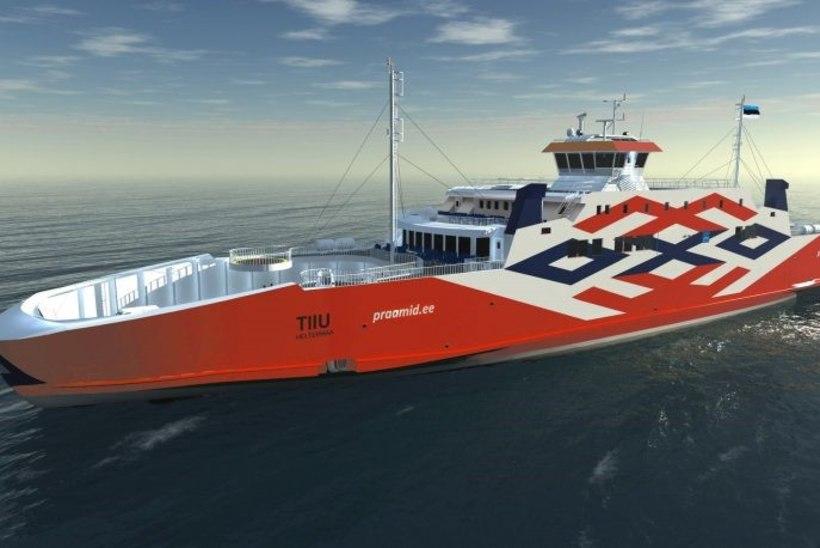 Parvlaev Tiiu teeb Türgis merekatsetusi