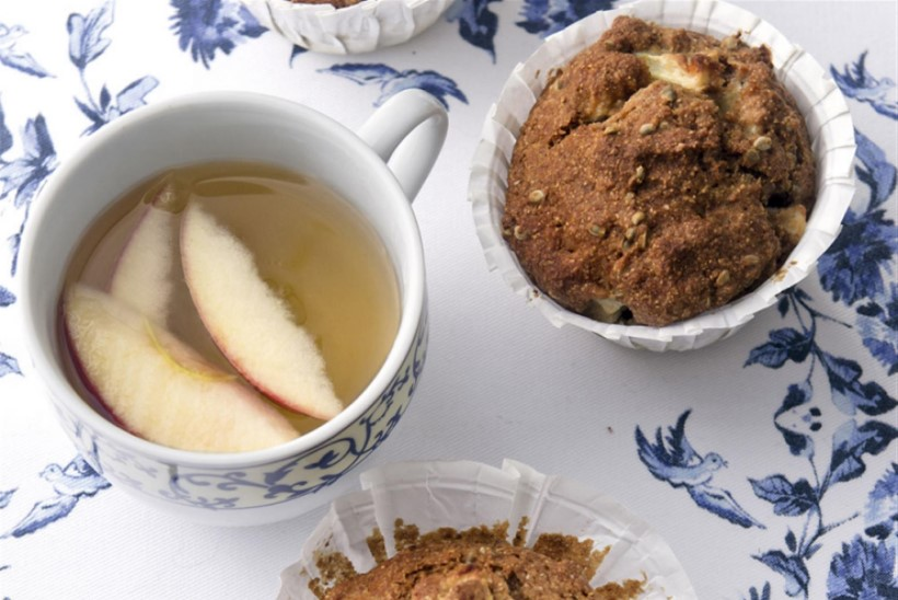 Õuna-kanepiseemne muffinid