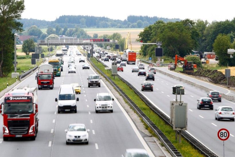 Saksamaal kehtestakse välismaistele sõidukitele kiirteemaks