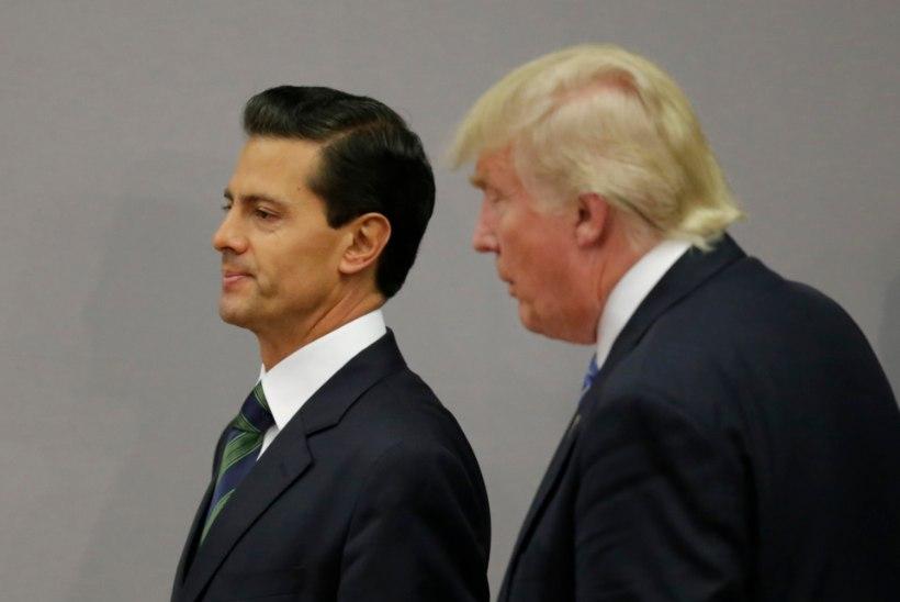 MÜÜRITÜLI: Mehhiko president jättis visiidi Washingtoni ära