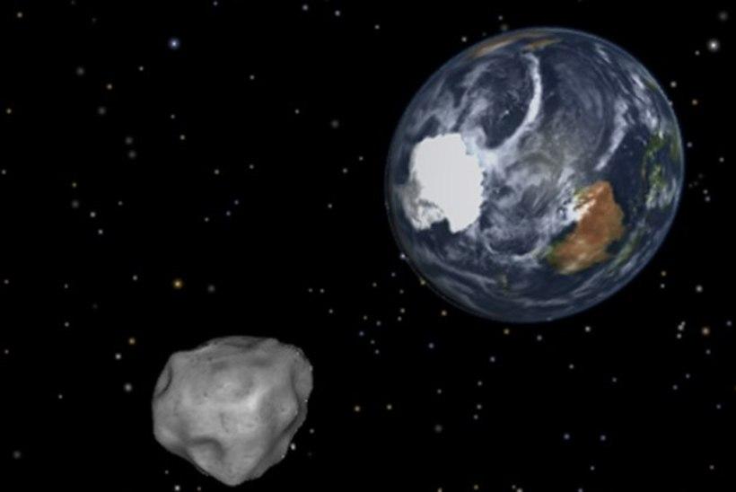 Maa elab pidevas asteroidiohus