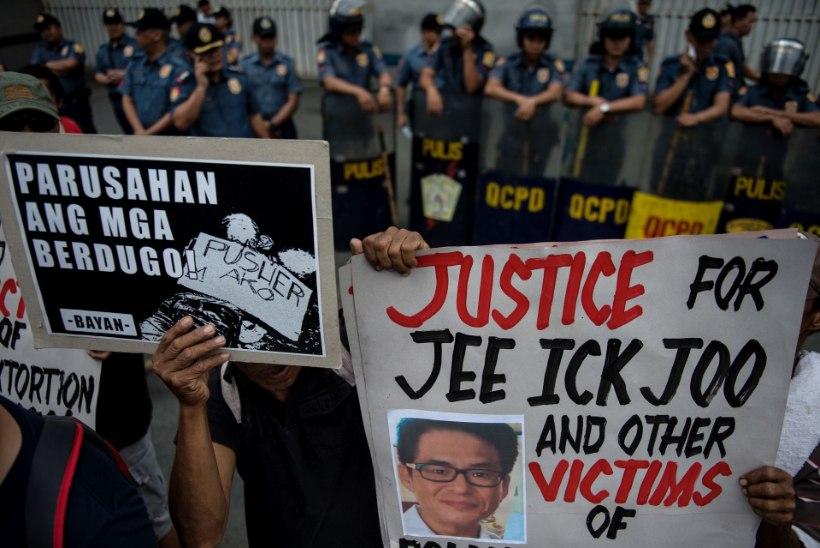 Filipiinide president vabandas Lõuna-Korea ees ärimehe tapmise pärast