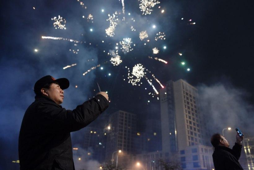 Hirm sudu ees sunnib hiinlasi uut aastat vastu võtma ilutulestikuta