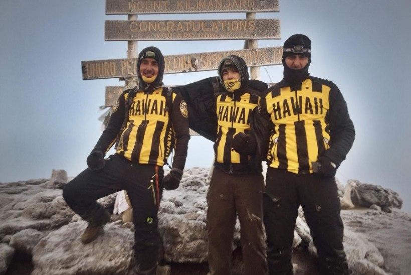 Eesti mehed vallutasid Kilimanjaro