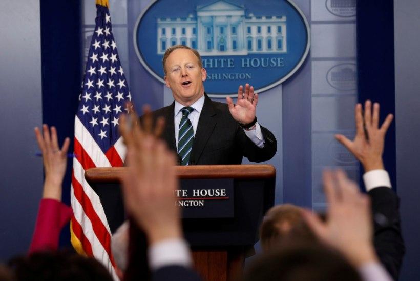 Kas Valge Maja pressisekretär säutsus tõesti oma salasõna?