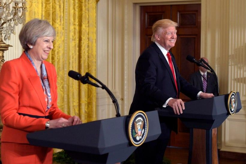 FOTOUUDIS   Briti peaminister: Trump on sajaprotsendiliselt NATO poolt