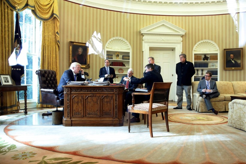 Presidendi tormiline nädalalõpp
