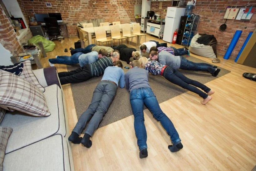 PLANKIV ettevõte Mooncascade: töö ja trenn käsikäes