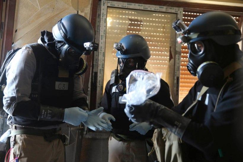 Britid valmistuvad tõrjuma Islamiriigi keemiarelvarünnakut