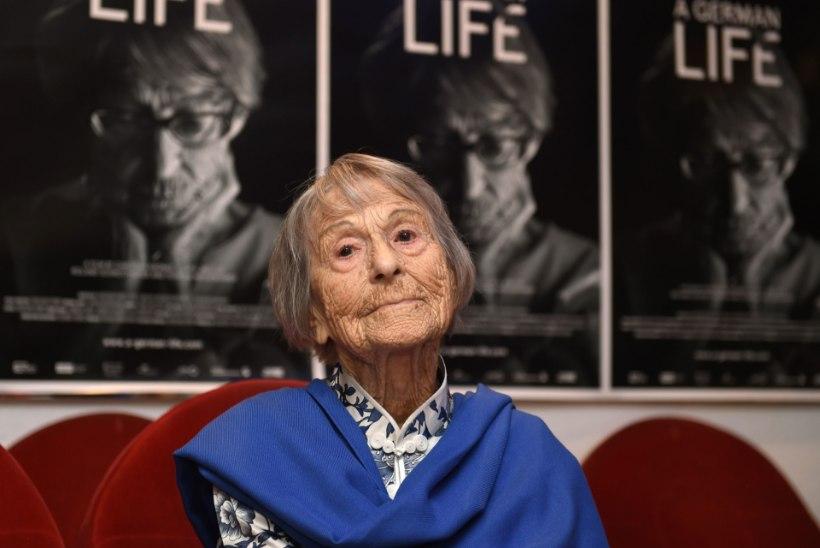 106 aasta vanuselt suri Brunhilde Pomsel, natside propaganda ülema sekretär