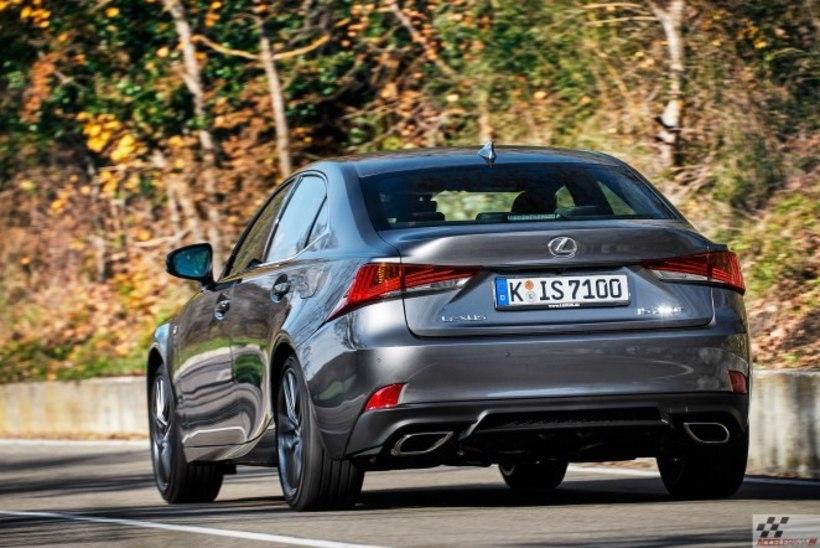 Uuenduskuuri läbinud Lexus IS: moodsam, sportlikum, ja endiselt ihaldusväärne