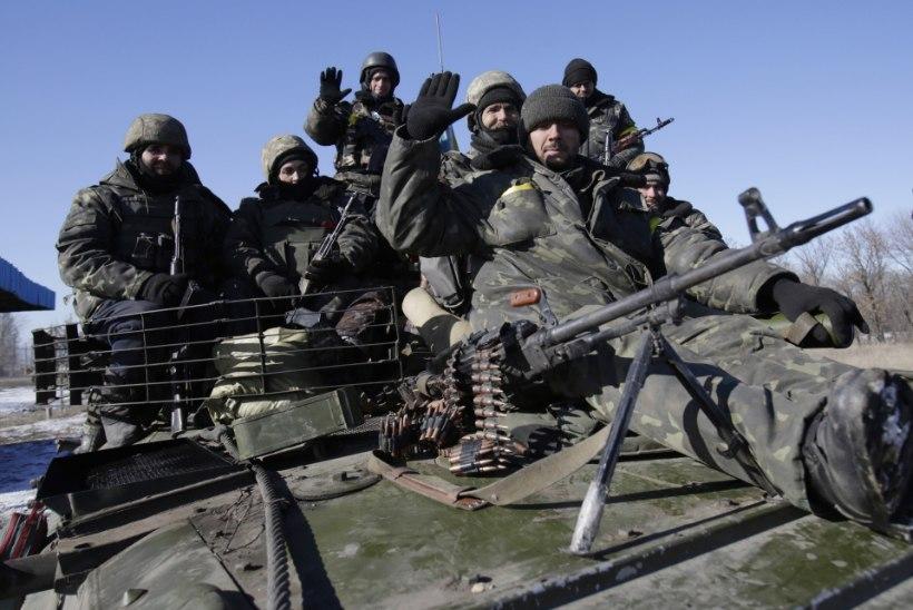 Ida-Ukrainas ägedad lahingud
