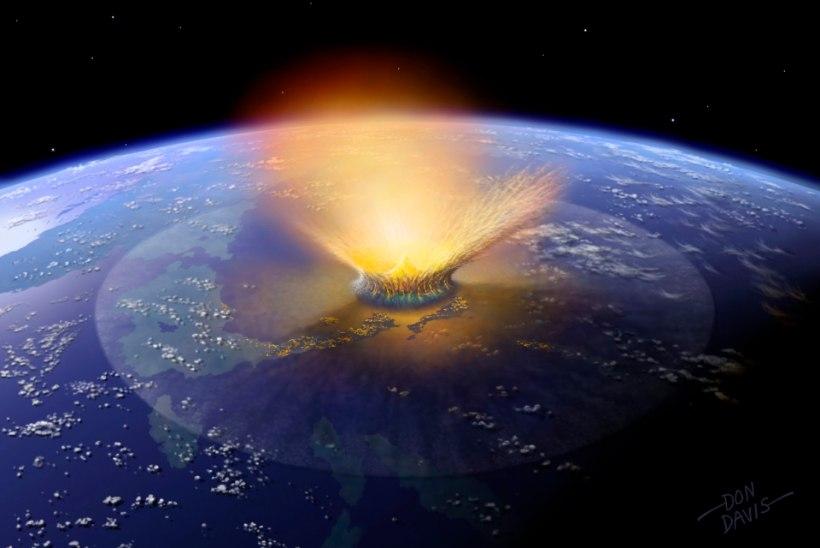 Vene astronoom: suur asteroid liigub Maaga kokkupõrkekursil