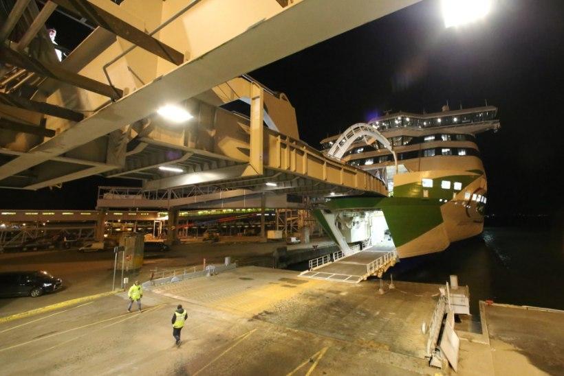 Uue Megastari lastehaigus takistas laeva väljumist