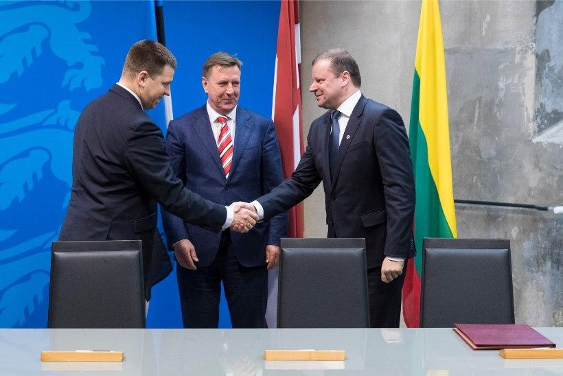 Kokkuleppel allkirjad: Rail Balticul tagasiteed ei ole