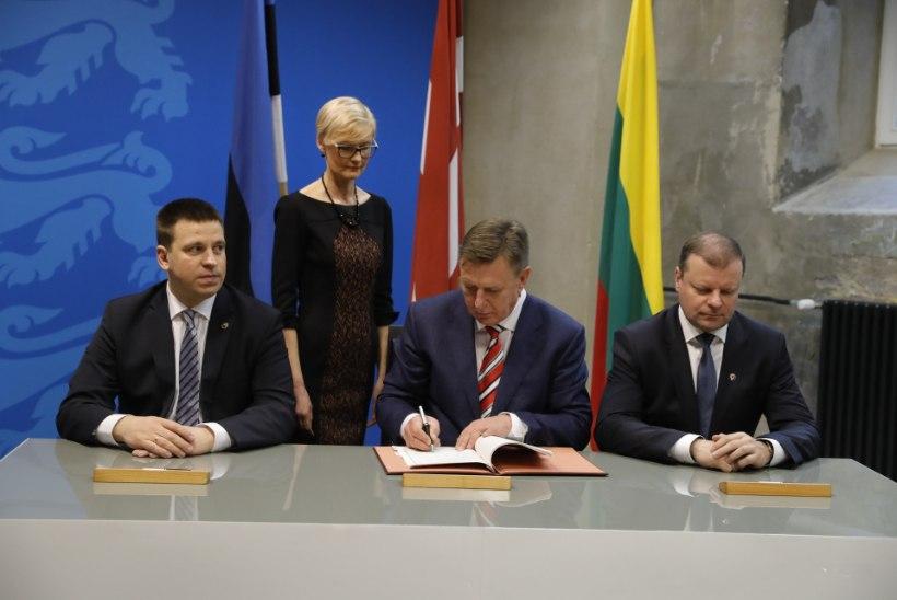 FOTOD | Balti peaministid allkirjastavad Rail Balticu kokkuleppe