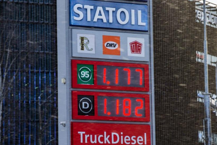 Tanklaketid annavad aru, miks veebruaris ja mais kütus kallineb