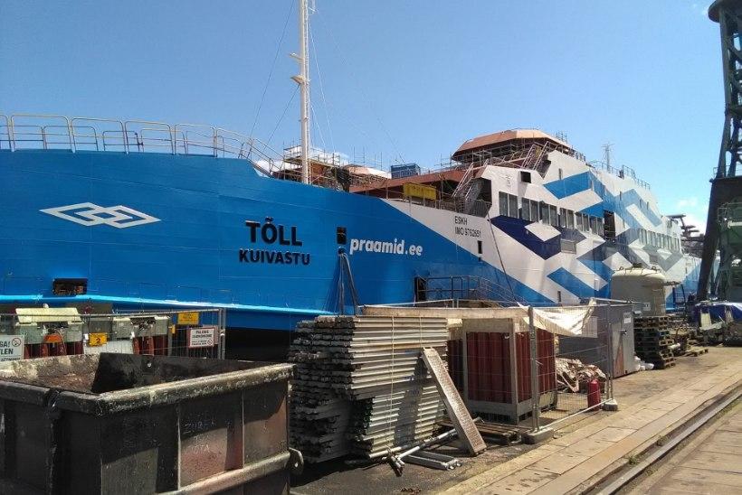 Poolas valmiv parvlaev Tõll peaks jaanuaris tööd alustama