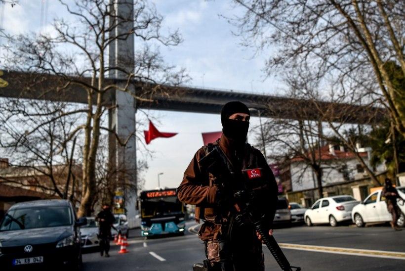 Türgi politsei vahistas seoses Istanbulis juhtunuga mitmeid uiguure