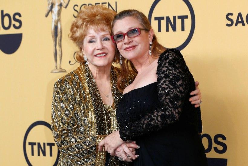 Carrie Fisher ja tema ema maetakse homme