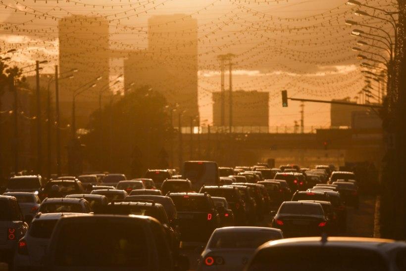 Tiheda liiklusega alal elamine suurendab dementsusriski