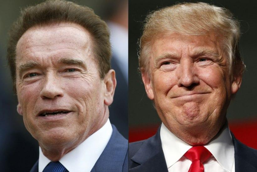 Donald Trump mõnitas oma mantlipärijat Schwarzeneggerit, Terminaator pani vastu