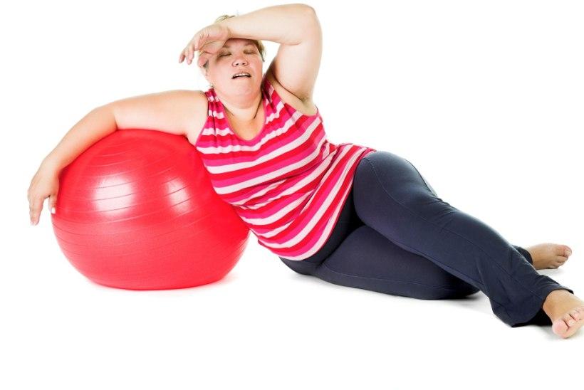 Miks on nii raske jääda trenni tegema? Süüdi on rasvane toit