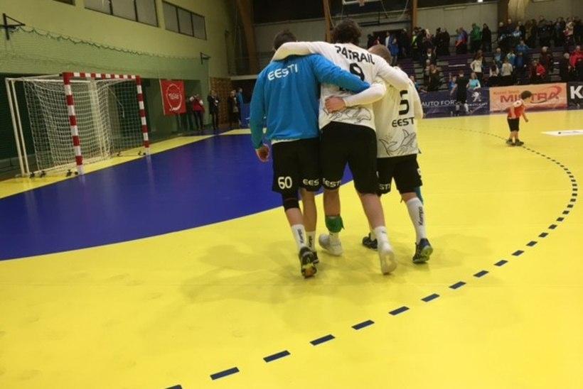 Vigastus lõpetas Eesti käsipallikoondise liidri valiksarja