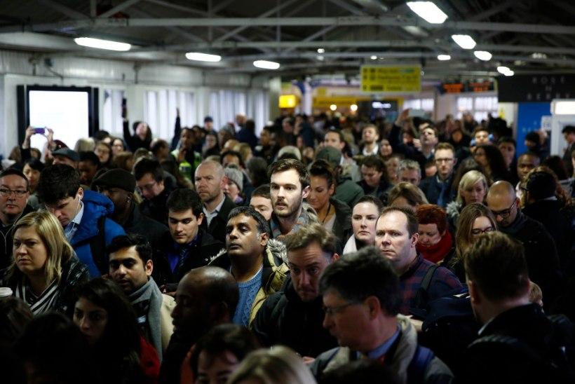 VIDEO | Metrootöötajate streik põhjustas Londonis kaose