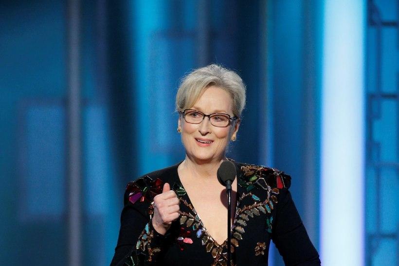 Meryl Streep ründas oma tänukõnes Trumpi