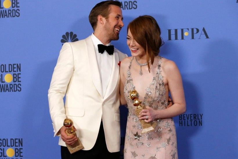 """REKORD! Muusikafilm """"La La Land"""" võitis seitse Kuldgloobust"""