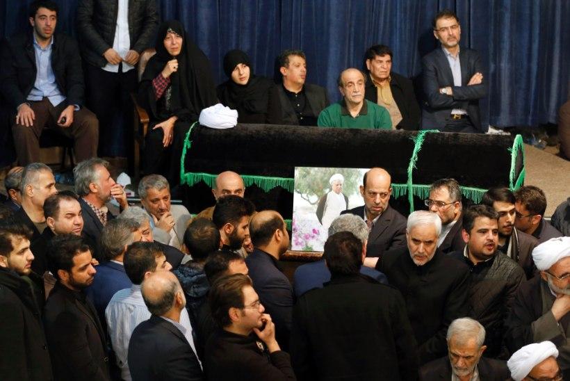 Suri Iraani endine president Akbar Hashemi Rafsanjani