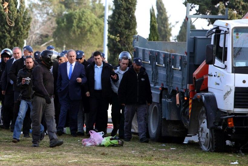 Jeruusalemmas veoautoga rahvahulka sõitnud mees oli ISISe toetaja