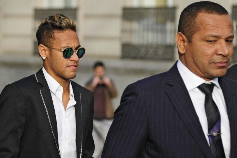 Neymari isa arvates oleks pidanud tema poeg Barcelonasse jääma