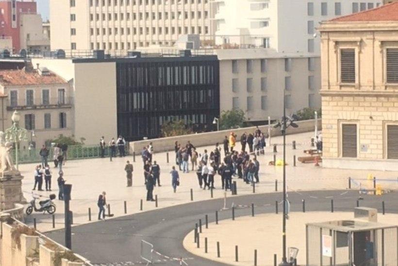 Noarünnak Marseille's: hukkus kaks inimest, ründaja lasti maha