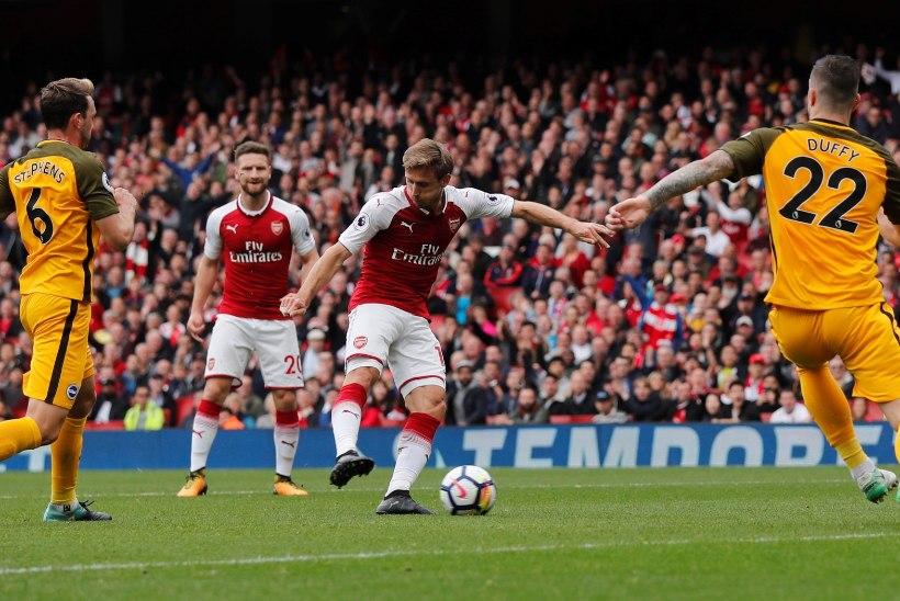 VIDEO | Kehva hooaja alguse üle elanud Arsenal võttis Premier League'is teise võidu järjest