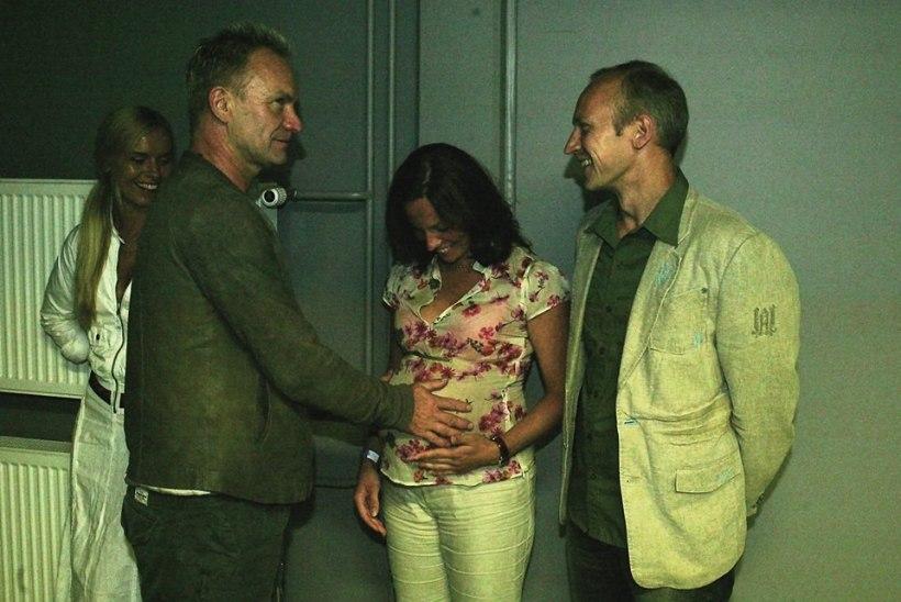 MILLINE VEDAMINE! Superstaar Sting õnnistas 11 aastat tagasi Liina Kersna beebikõhtu!