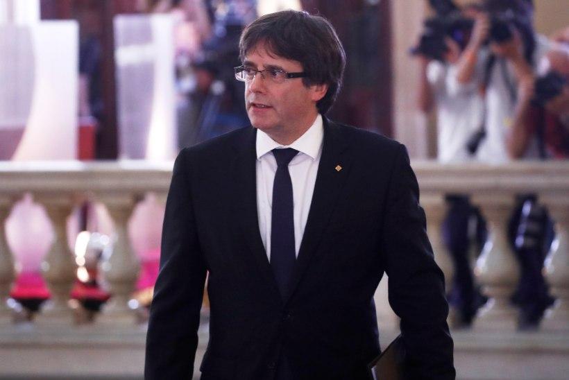 Puigdemont:  Katalooniast peab saama iseseisev riik