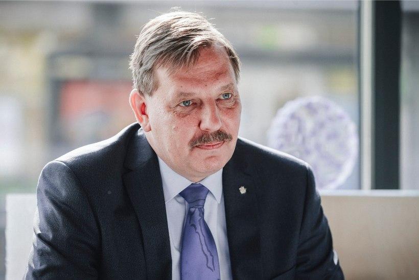 """Taavi Aas linnapeakandidaatide debatil: """"Kui Raivo Aeg tahab võidelda korruptsiooniga, siis kandideerigu kaitsepolitsei peadirektoriks!"""""""