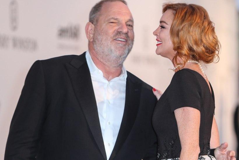 Lindsay Lohan kaitseb kiimalist Harvey Weinsteini